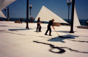 Zhou Brothers Live painting at Navy Pier